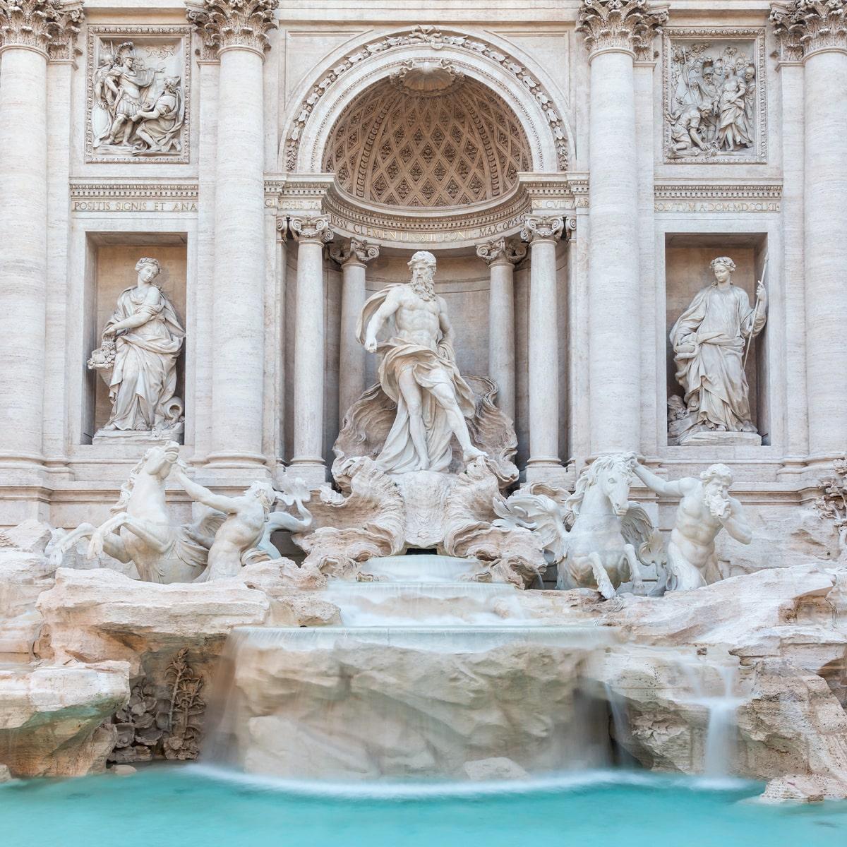 Fontana Trevi Roma Letusdrive tours Napoli Naples Napoles Italia, Italy Pompeya – Sorrento - Positano