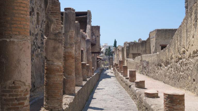 Ercolano 3 768x432 - Pompeii - Herculanuem - Mt. Vesuvius