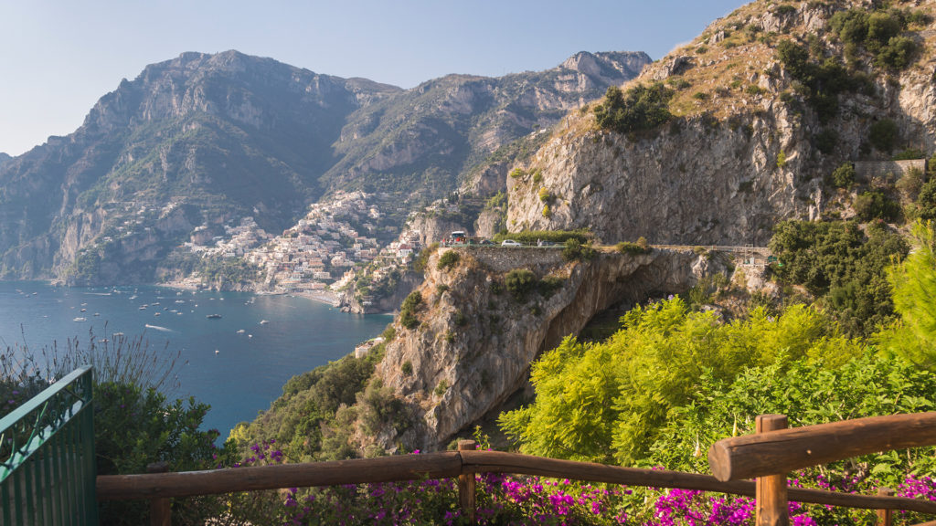 positano3 1024x576 - Tour Ravello - Amalfi - Positano